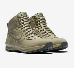 Nike Manoadome Boots Khaki Dark Gray Leather Boots 844358-20