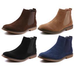 Metrocharm MC128 Men's Casual Fashion Ankle Chelsea Boots