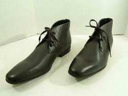 Calvin Klein Men Carmichael Chukka Boots Shoes Leather Size