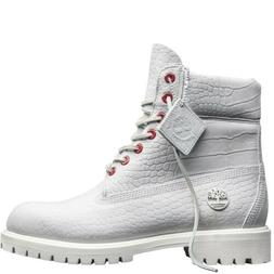 "Timberland Men Limited Release White Serpent Exotic 6"" Premi"