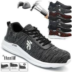 Men Non-Slip Casual Breathable Protection Footwear Steel Toe