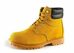 Men's Comfortable Water Resistant Premium Work Boots Breatha