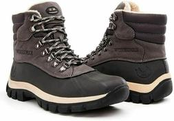 KINGSHOW Men's 1705 Work Snow Boots