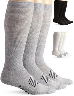 Wrangler Men's 3 Pair Over the Calf Western Boot Socks Size