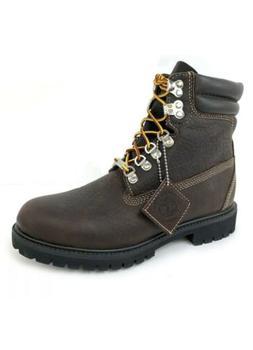 "Timberland Men's 6"" 640 Below Waterproof Dark Brown Leather"