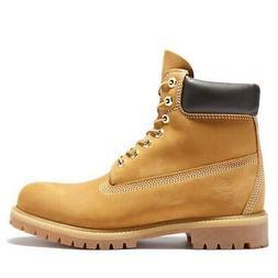 Timberland Men's 6-inch Premium Waterproof Boots Wheat Nubuc