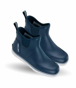 """Pelagic Men's 6"""" Pursuit Deck Boot Fishing Blue Boots Shoes"""
