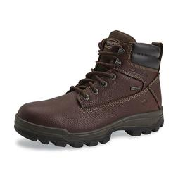 """WOLVERINE MEN'S 6"""" WATERPROOF SOFT TOE WORK BOOTS Oil and Sl"""