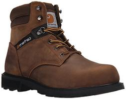Carhartt Men's 6 Work Safety Toe NWP-M, Crazy Horse Brown Oi