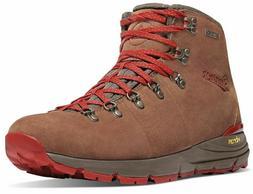 """Danner Men's 62241 Outdoor Mountain 600 Brown/Red 4.5"""" Suede"""