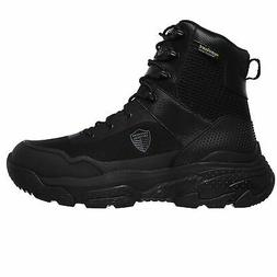Skechers Men's 77515 Markan Waterproof Black Military Tactic