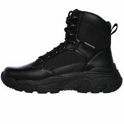 Skechers Men's 77533 Markan Bovill Black Military Tactical W