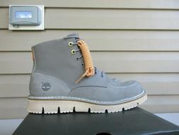 Timberland Men's 8.5 Westmore Leather Boots  Grey NEW $160