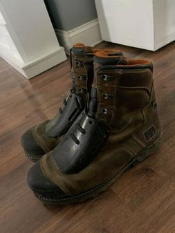 "Timberland Pro Men's 8"" Boondock Composite Toe Work Boots 12"