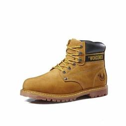 KINGSHOW Men's 8036 Wheat Classic Work Boots 7M US 7 7