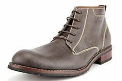 Ferro Aldo Men's 806020 Ankle High Distressed Chukka Desert
