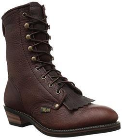 Adtec Men's 9 Inch Packer-M Boot, Chestnut, 12 M US