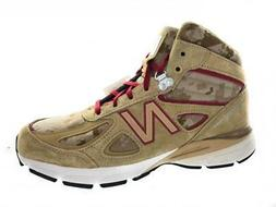Men's New Balance 990v4 Boots MO990HR4 Incense NB Scarlet