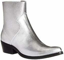 Calvin Klein Men's Alden Tumbled Leather Fashion Boot, - Cho