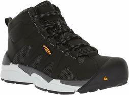 Keen Men's Aluminum Toe Boots San Antonio Mid Industrial Sho