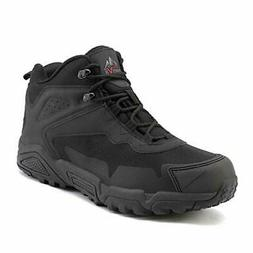 NORTIV 8 Men's Ankle Waterproof Hiking Boots Lightweight Bac