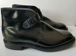 men s black leather shoes boots monk