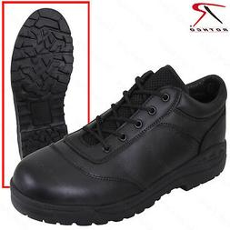Rothco Men's Black Tactical Utility Oxford Shoe/Work Boots R
