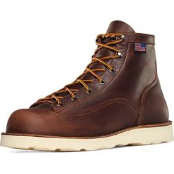 "Men's Danner Boots Bull Run 6"" Brown Cristy 15552"