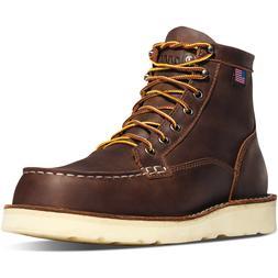"""Men's Danner Boots Bull Run Moc Toe 6"""" Brown 15563"""