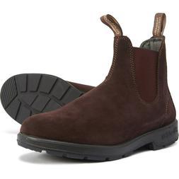 Blundstone Men's Boots US 9.5 M / AU 8.5 Brown Suede NEW Che