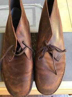 Clarks Men's Bushacre 2 Chukka Boot - Brown 11.5M