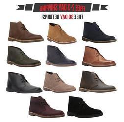 Clarks Men's Bushacre 2 Chukka Boots Shoes, Classic Ankle Hi
