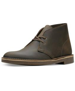 Clarks Men's Bushacre 2 Chukka Boots Size 11.5M Beeswax Leat
