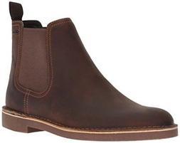 CLARKS Men's Bushacre Hill Chelsea Boot,