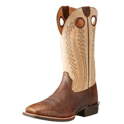 Ariat® Men's Catalyst Plus Bar Top Bison Brown & Beige Boot