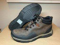Men's Clarks Causal Hiking Boots Brown Leather WaterProof 60