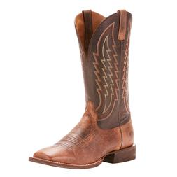 Ariat® Men's Circuit Stride Weathered Tan Gunfire Gray Boot