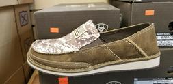 Ariat Men's Cruiser Patriot Flag Patch Shoes - Moc Toe - 100