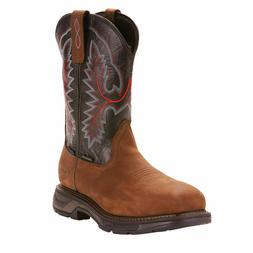 Ariat Men's Dark Brown Workhog XT H20 Boots - Carbon Toe-100