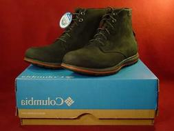 "COLUMBIA MEN""S DAVENPORT CASUAL BOOTS 8.5 NEW in BOX"