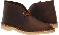 Clarks Men's Desert Chukka Beeswax Boots--US Size---8.5M  26