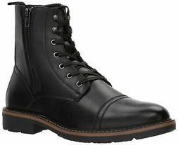 Unlisted by Kenneth Cole Men's Design 30305 Mid Calf Boot Bl