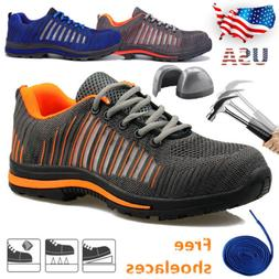 Men's ESD Safety Shoes Steel Toe Steel Sole Breathable Work