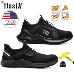 Men's ESD Work Safety Shoes Steel Toe Cap Boots Sneakers Ind