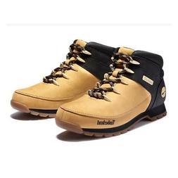 Timberland Men's Euro Sprint Wheat / Black Hiker Boots A1NHJ