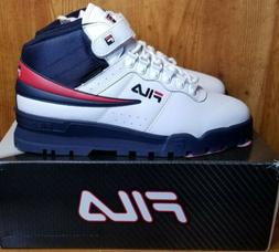 Fila Men's F-13 Weather TECH Sneakers Boots Hiking Shoes Whi