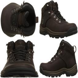 Men's Flume Waterproof Boot Dark BROWN 10.5 W US STRING LIGH