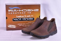 Men's Skechers Garton-Keven Ankle Boots Brown