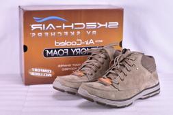 Men's Skechers Garton-Meleno Ankle Boots Tan