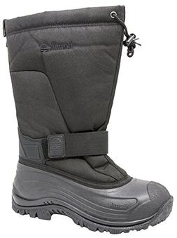 Kamik Men's Greenbay 4 Cold Weather Boot  US, Triple Black)